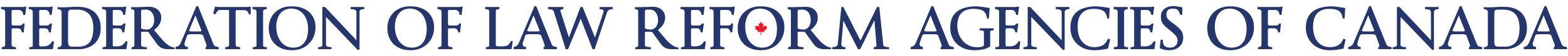 federation of law reform agencies of canada